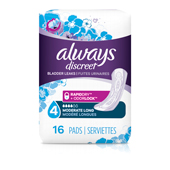 Long Moderate Incontinence Pads